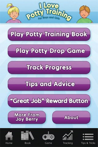 i love potty training iphone / ipad app