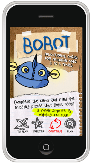Learn with Bobot - iphone / ipod app