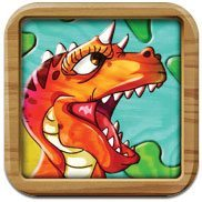Dino Puzzle HD - free app to try