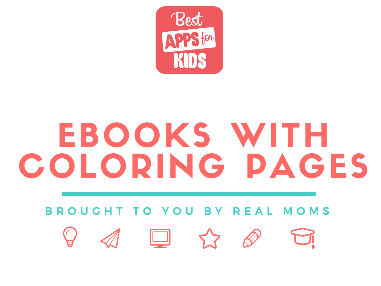 eBooks with Coloring Pages
