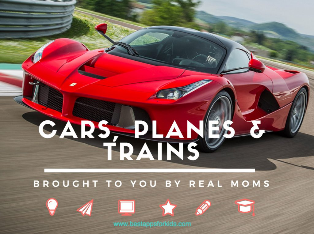 cars planes trains apps