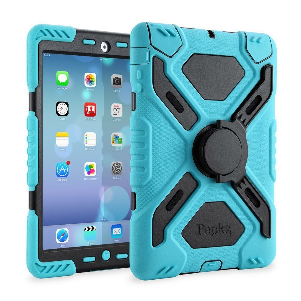 Pepkoo Ipad 2/3/4 Case Plastic Kid Proof