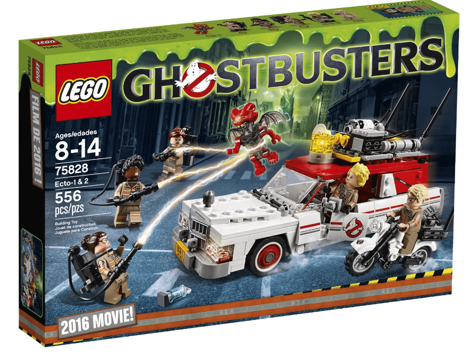 lego cars ghostbusters