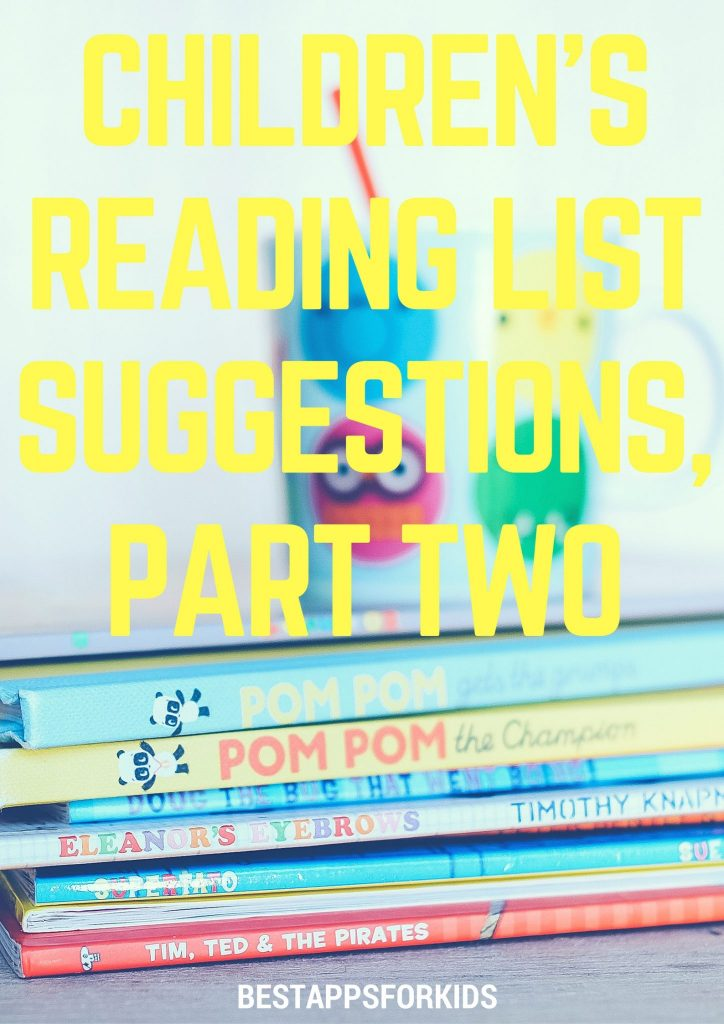 childrens reading list suggestions part two children