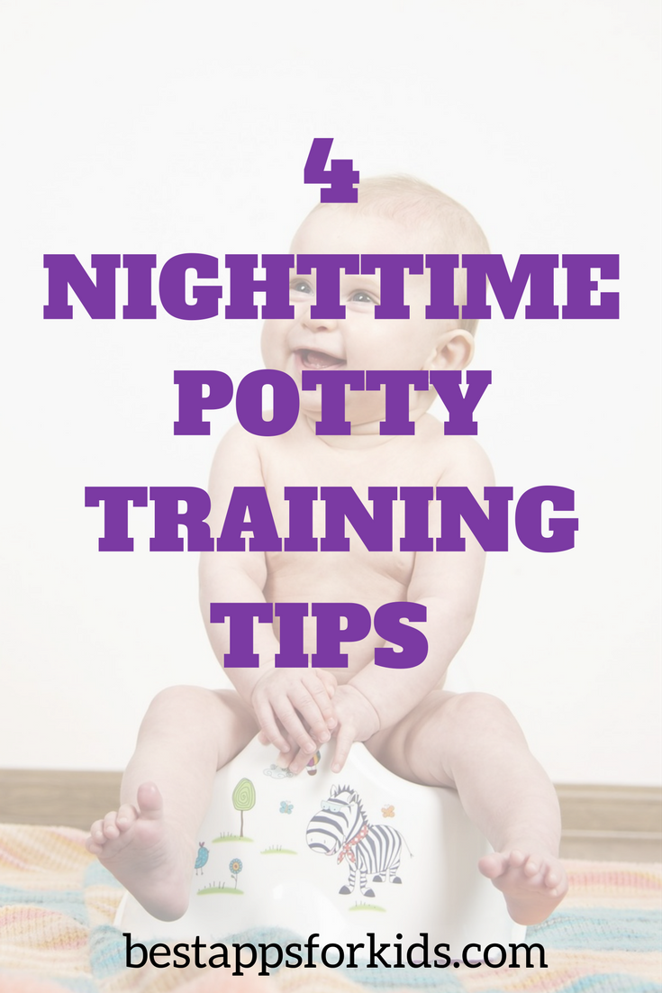 The best potty training tips to keep your little one dry through the night.