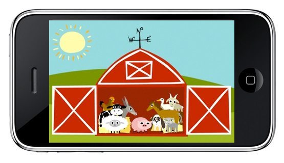 Peekaboo Farm App for the iPhone
