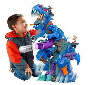 10. Fisher-Price Imaginext Ultra Ice T-Rex