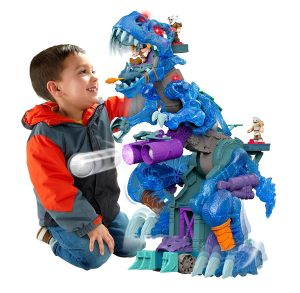 8. Fisher-Price Imaginext Ultra Ice T-Rex