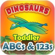 Toddler Counting & Alphabets - Dinosaurs app by Space Machine
