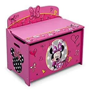 Delta Minnie Mouse Deluxe Toy Box