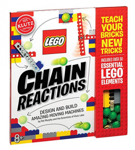 3. Klutz LEGO Chain Reactions Craft Kit