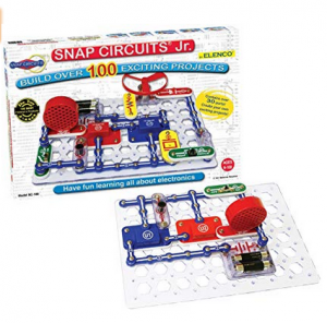 9. Snap Circuits Jr. SC-100 Electronics Kit