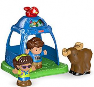 3. Fisher-Price Little People Going Camping