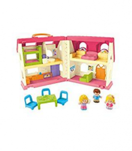 6. Fisher-Price Little People Surprise & Sounds Home