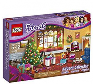 7. LEGO Friends Advent Calendar (41131)