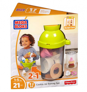 9. Mega Bloks First Builders Cookie Jar Baking Set