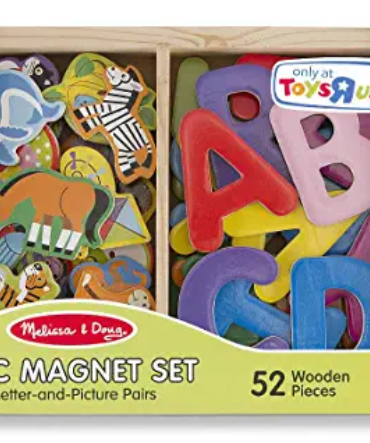 Melissa & Doug ABC Magnet Set