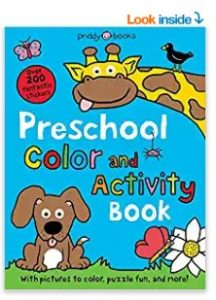 Preschool Sticker Activity book by Roger Priddy
