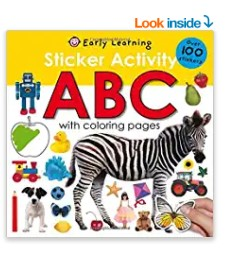 Sticker Activity ABC by Roger Priddy