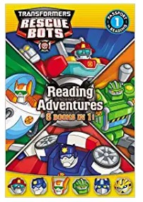 Transformers Rescue Bots Reading Adventures by Hasbro