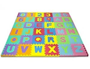 Alphabet and Numbers Foam Floor Puzzle