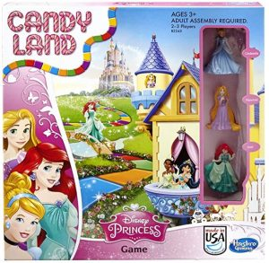 Candy Land Disney Princess Game