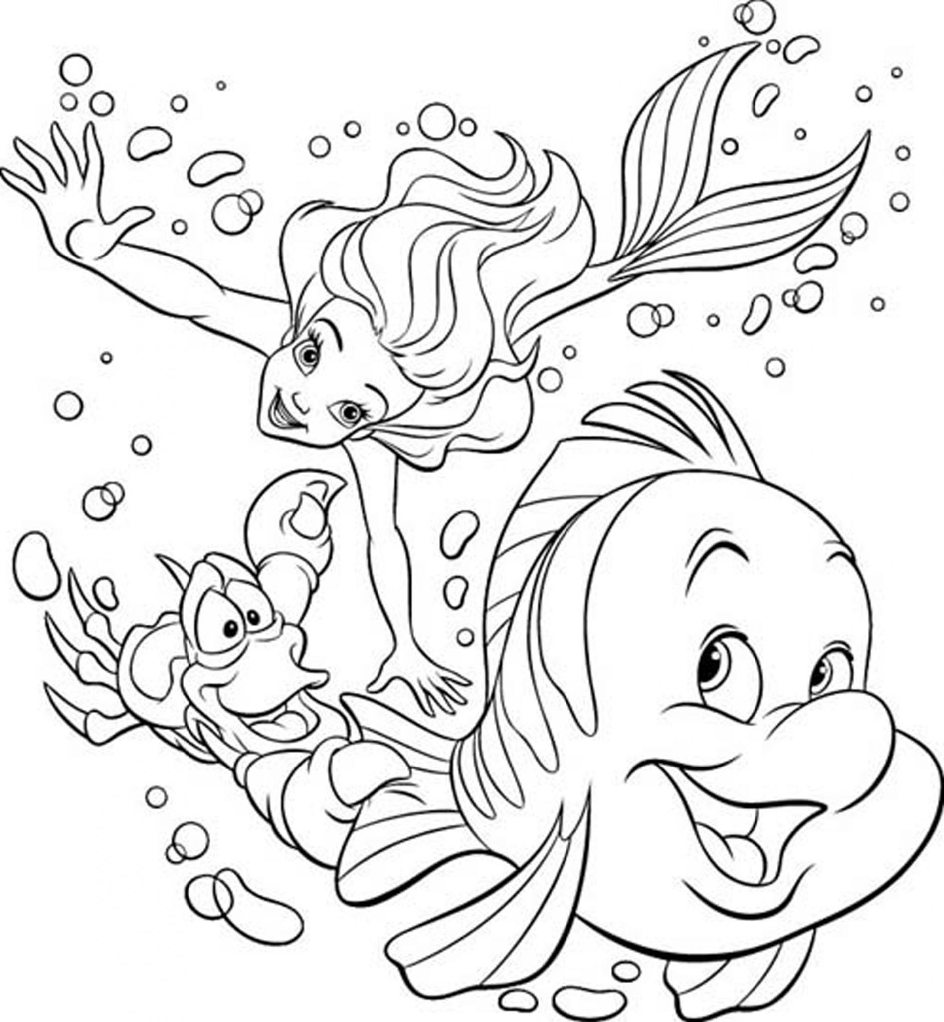 33 Free Disney Coloring Pages for Kids! | BAPS