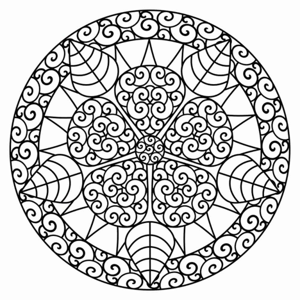 free printable coloring pages for adults geometric - Free Printable Colouring Pages