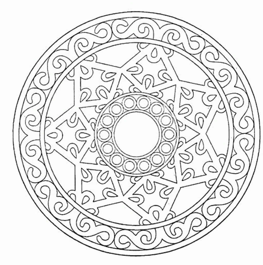 Printable Mandala Coloring Pages For Adults Bestappsforkids Com Mandala Coloring Pages Printable