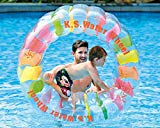 Inflatable Baby Float-Pool Swimming Ring With Sun Canopy