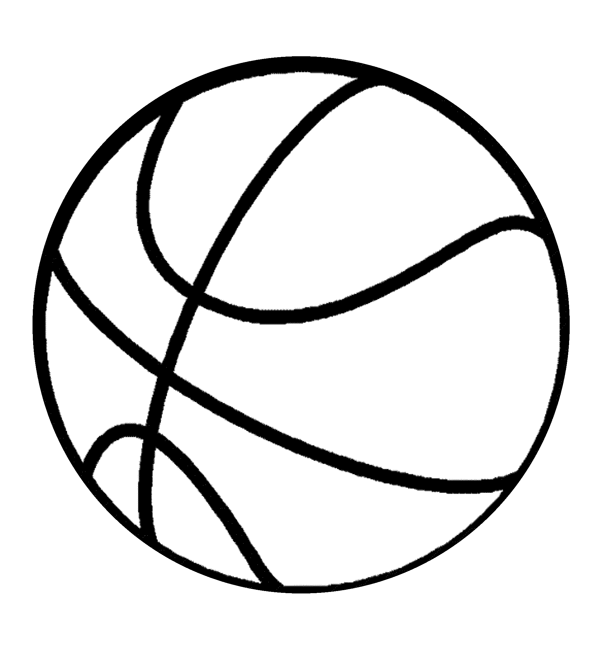 Adaptable image pertaining to printable basketball pictures