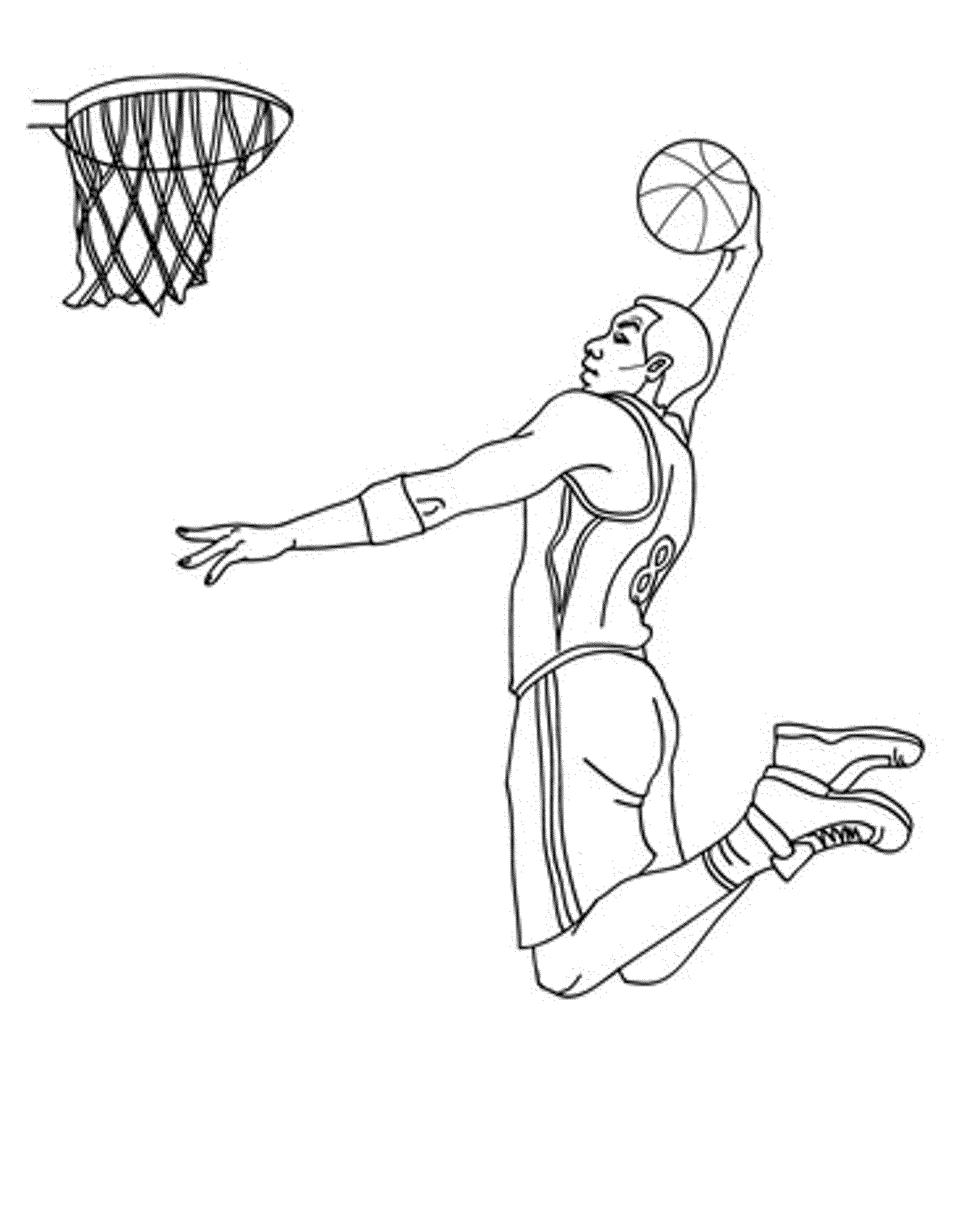 free basketball coloring pages BestAppsForKidscom