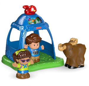 6. Fisher-Price Little People Going Camping