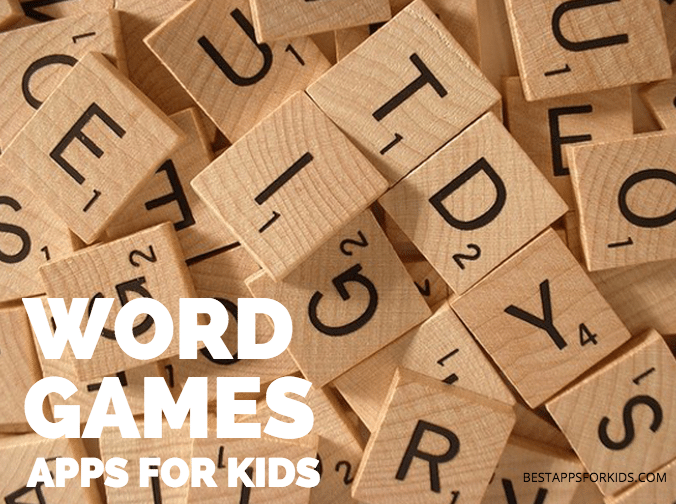 word game apps kids