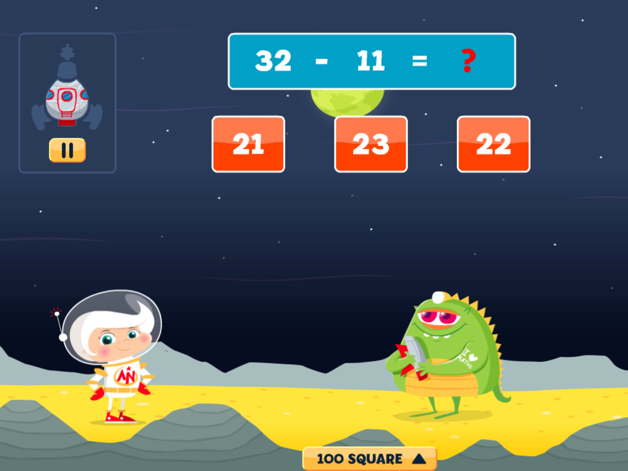 Astro Nora: Addition & Subtraction Maths for 4-7 Year Olds ...