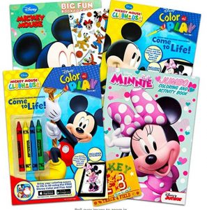 Disney Mickey Mouse Coloring Book Super Set with