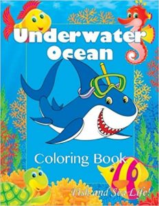 Underwater Ocean Coloring Book