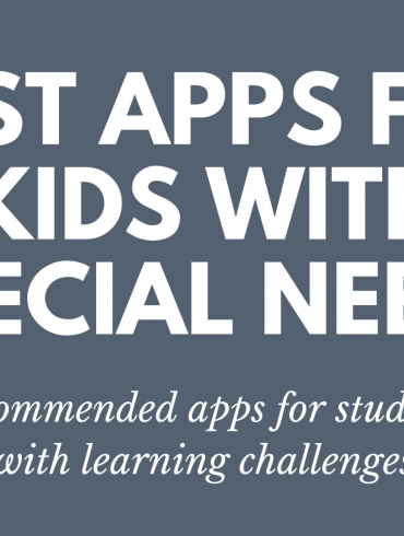 best apps kids special needs