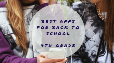 Best Apps for Back to School - 4th Grade