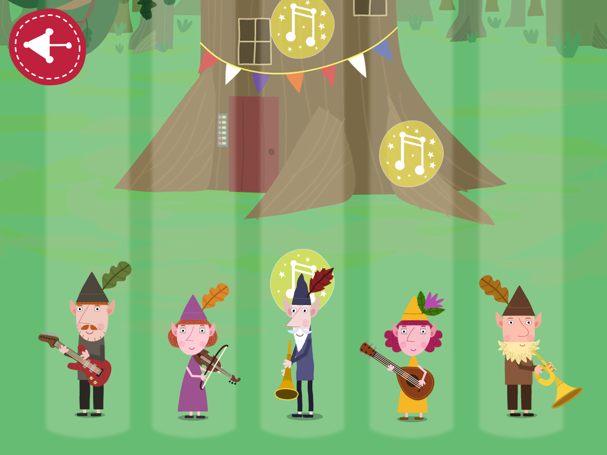 Ben and Holly: Elf and Fairy Party | App Reviews | BestAppsForKids.com