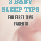 3 Baby Sleep Tips for New Parents