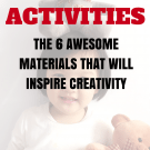 The best toddler activity materials.