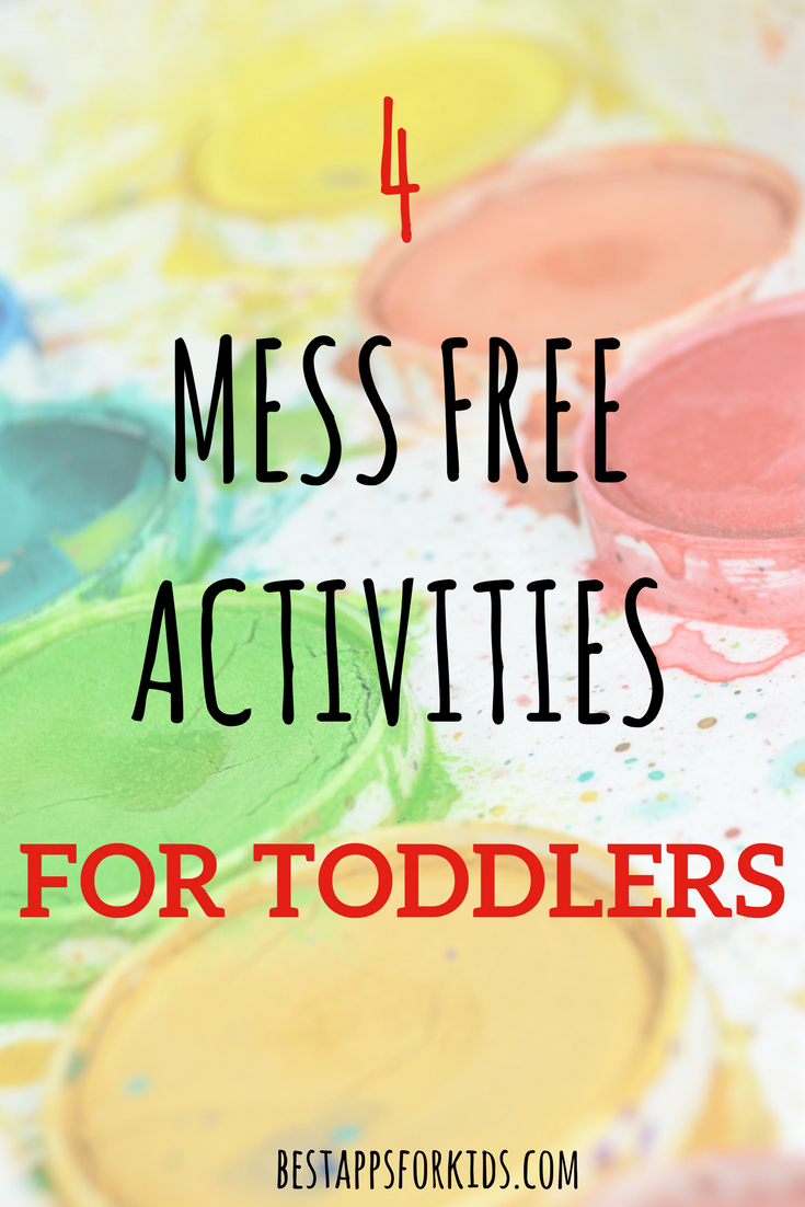 4 Mess-Free Activities For Toddlers | DIY Fun for Kids ...