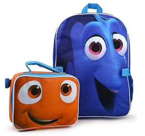 Disney Finding Dory Backpack With Lunch Kit