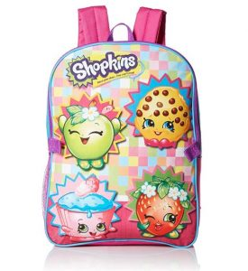 Shopkins Backpack with Lunch Kit