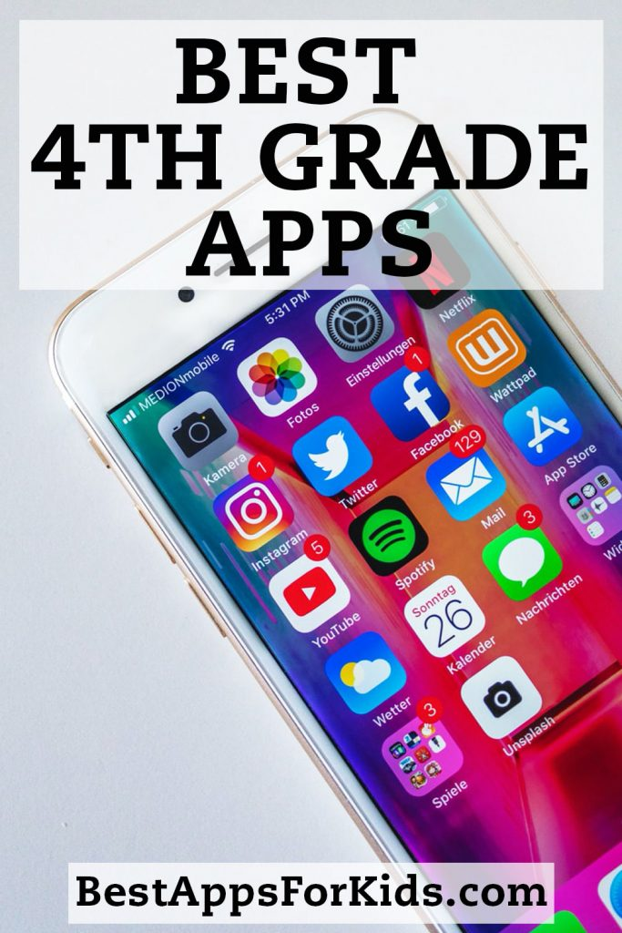 Best 4th Grade Apps