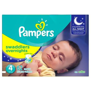 Pampers Swadlers Size 4