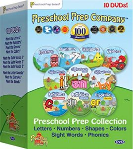 Preschool Prep Series Collection – 10 DVD Boxed Set