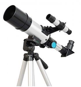 TwinStar 60mm Refractor Telescope 300mm Focal Length