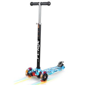 VOKUL 3 Wheel Mini Kick Scooter